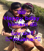 Happy bday himani dii ....... luv uu!!  😚:*muaha:*😘 - Personalised Poster A1 size