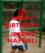 HAPPY BIRTHDAY 14TH JEREMY NAFTALI - Personalised Poster A1 size