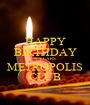 HAPPY BIRTHDAY 5 YEARS METROPOLIS CLUB - Personalised Poster A1 size