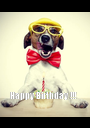 Happy Birthday !!!            - Personalised Poster A1 size