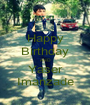 Happy Birthday AND Yaser Imanzade - Personalised Poster A1 size