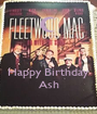 Happy Birthday Ash - Personalised Poster A1 size