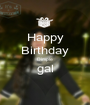 Happy Birthday Dimple gal  - Personalised Poster A1 size