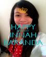 HAPPY BIRTHDAY INNAH BARANDA - Personalised Poster A1 size