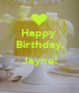 Happy  Birthday,  Jayne!  - Personalised Poster A1 size
