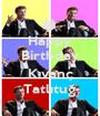 Happy Birthday  Kıvanç Tatlıtuğ - Personalised Poster A1 size