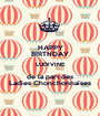 HAPPY BIRTHDAY LUDIVINE de la part des Ladies Chonchonnaises - Personalised Poster A1 size