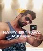 HAPPY BIRTHDAY M.Kianfar - Personalised Poster A1 size