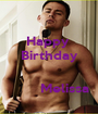Happy  Birthday          Melissa - Personalised Poster A1 size