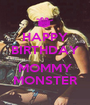 HAPPY BIRTHDAY  MOMMY MONSTER - Personalised Poster A1 size