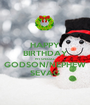HAPPY BIRTHDAY MY SPECIAL GODSON/NEPHEW SEVAG - Personalised Poster A1 size