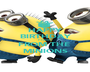 HAPPY BIRTHDAY Pravins FROM THE  MINIONS - Personalised Poster A1 size