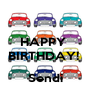 HAPPY  BIRTHDAY!    Sendi - Personalised Poster A1 size