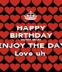 HAPPY BIRTHDAY SUMIT BHAI ENJOY THE DAY Love uh  - Personalised Poster A1 size