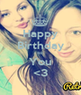 Happy Birthday to You <3 - Personalised Poster A1 size