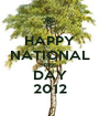 HAPPY NATIONAL TREE DAY 2012 - Personalised Poster A1 size