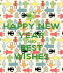 HAPPY NEW YEAR AND BEST WISHES - Personalised Poster A1 size
