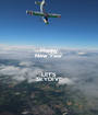 Happy New Year  LET'S SKYDIVE - Personalised Poster A1 size