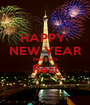 HAPPY  NEW YEAR Seafarer's Rest  - Personalised Poster A1 size