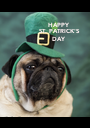 HAPPY ST. PATRICK'S DAY - Personalised Poster A1 size