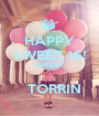HAPPY SWEET 16! BIRTHDAY    TORRIN - Personalised Poster A1 size