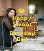 Happy Sweet 26TH Birthday Baji - Personalised Poster A1 size