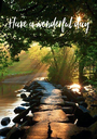 Have a wonderful day  - Personalised Poster A1 size