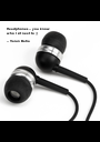 Headphones -- you know  who I sit next to ;)  -- Varun Batra - Personalised Poster A1 size