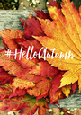 #HelloAutumn   - Personalised Poster A1 size