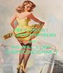 HELP US GET TO 500 MEMBERS AND WE WILL START A 'SPECIAL' CHAT ;) - Personalised Poster A1 size