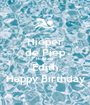 Hieper de Piep Hoeraaa Edith Happy Birthday - Personalised Poster A1 size