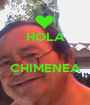 HOLA   CHIMENEA  - Personalised Poster A1 size