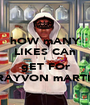 hOW mANY LIKES CAn I gET FOr TRAYVON mARTIN - Personalised Poster A1 size