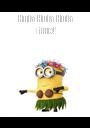 Hula Hula Hula Time!  - Personalised Poster A1 size