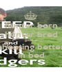hunter born hunter bred good at shooting better in bed - Personalised Poster A1 size