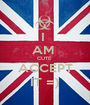 I  AM  CUTE  ACCEPT IT =) - Personalised Poster A1 size