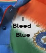 I Bleed   Blue  - Personalised Poster A1 size