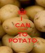 I  CAN COUNT TO POTATO - Personalised Poster A1 size
