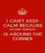 I CAN'T KEEP CALM BECAUSE ALIGARH NUMAISH IS AROUND THE CORNER - Personalised Poster A1 size