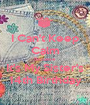 I Can't Keep Calm Becuase It's My Sister's 14th Birthday - Personalised Poster A1 size