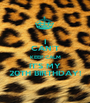 I CAN'T KEEP CALM IT'S MY 20TH BIRTHDAY! - Personalised Poster A1 size