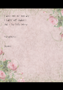 I don't want my mom die I LOVE MY MOM!!!! And i love little babyes    THANKS!!!  (kermin) - Personalised Poster A1 size