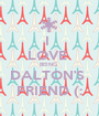 I  LOVE  BEING  DALTON'S  FRIEND (: - Personalised Poster A1 size