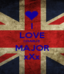 I LOVE CHARLIE MAJOR xXx - Personalised Poster A1 size