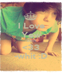 I Love Yew Zach <33 -whit :D - Personalised Poster A1 size