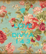 i LOVE YOU DIVYA 1 4 3 - Personalised Poster A1 size
