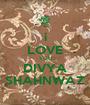 i LOVE YOU DIVYA SHAHNWAZ - Personalised Poster A1 size