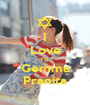 I Love You Gemma Pranita - Personalised Poster A1 size