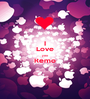 I Love you Remo  - Personalised Poster A1 size
