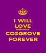 I WILL LOVE MIRANDA  COSGROVE FOREVER - Personalised Poster A1 size